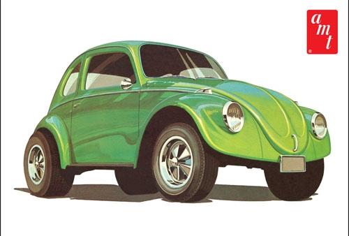 Byggmodell bil - Volkswagen Beetle - 1:25 - AMT