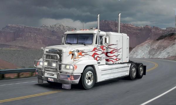 Byggmodell lastbil - Freightliner FLD 120 special - 1:24 - Italieri