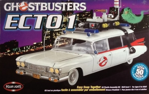Byggmodell bil - Ghostbusters Ecto-1 - 1:25 - SNAP - Polar Lights