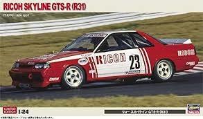 Byggmodell bil - RICHO SKYLINE GTS-R (R31) - 1:24 - Hasegawa