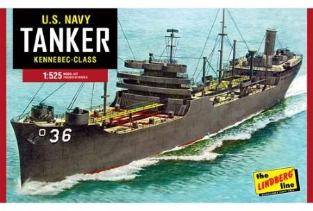 Byggmodell krigsfartyg - Navy Tanker - 1:520 - Lindberg