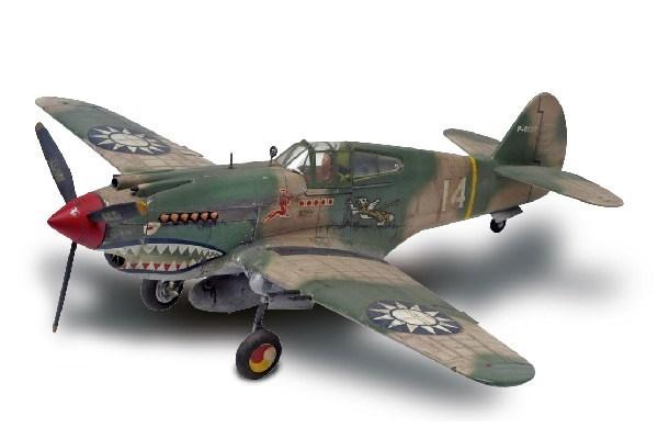 Byggmodell flygplan - P-40B Tiger Shark - 1:48 - Revell
