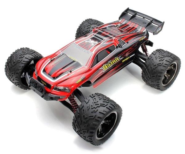 Radiostyrd bil - 1:12 - Wild Truggy 2WD - 2,4Ghz - Röd - RTR