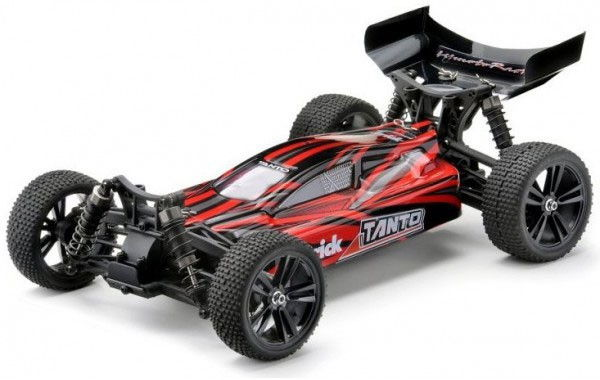 Radiostyrda bilar - 1:10 - Tanto Buggy 4wd - Röd - 2,4Ghz - RTR