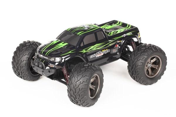 Radiostyrd bil - 1:12 - Wild Challenger 2WD - 2,4Ghz - Grön - RTR