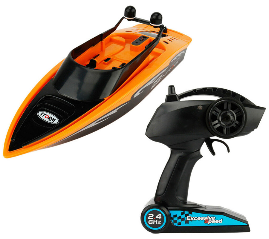 Radiostyrd båt - Gear4Play NRG23 Racing Boat - 2,4Ghz - RTR