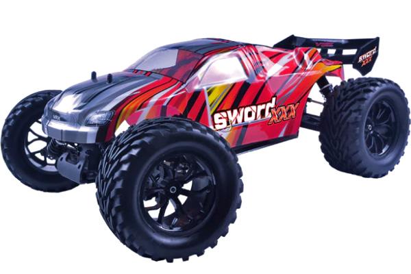 Radiostyrd bil - 1:9 - Sword 3X EBD - 2.4GHz - RTR