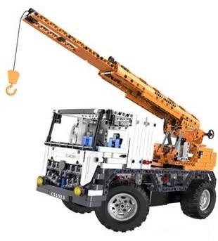 RC bygg modell - CadA Technic Crane - 2in1 - 2,4Ghz - DE