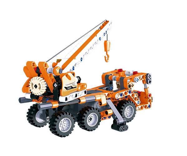 Mobile Crane - Bygg klossar