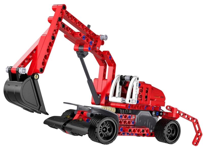 Excavator - Bygg klossar