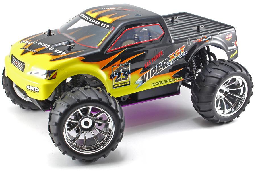 Metanol bil - 1:10 - Himoto Eldorada - 4WD - 2,4Ghz - RTR
