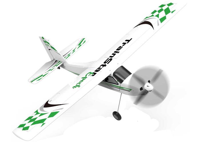 Radiostyrt Flygplan - TrainStar Epoch - 2,4Ghz - inkl. pontoner - SRTF