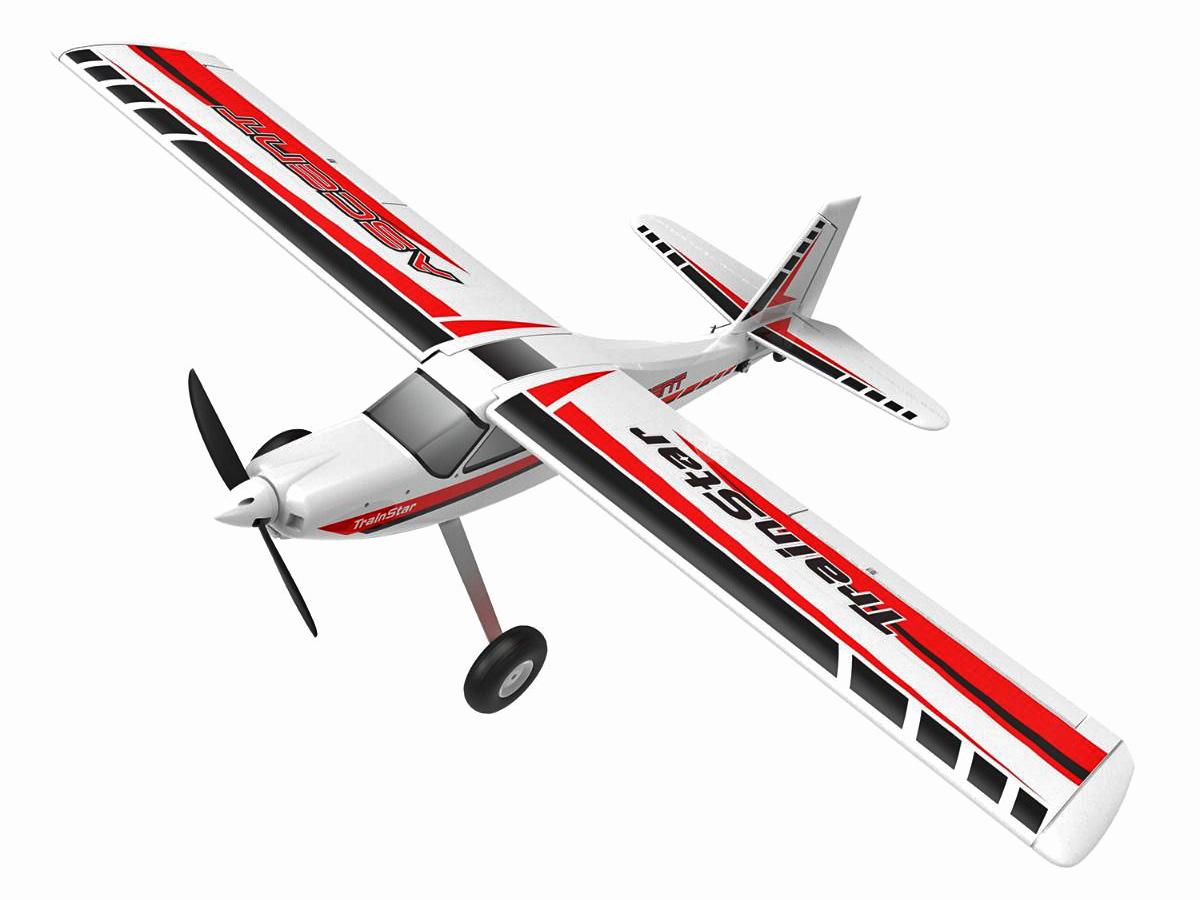 Flygplan - Trainstar Ascent BL - 1,4m - 2,4Ghz - 6ch - SRTF