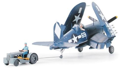 Byggmodell flygplan -  Corsair F4U-1D med traktor - 1:48 - Tamiya