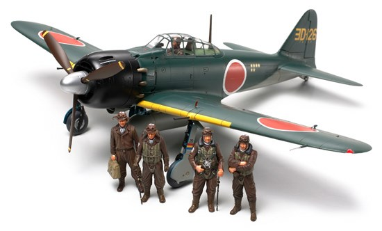 Byggmodell flygplan - A6M5/5a Zero (Zeke) - 1:48 - Tamiya