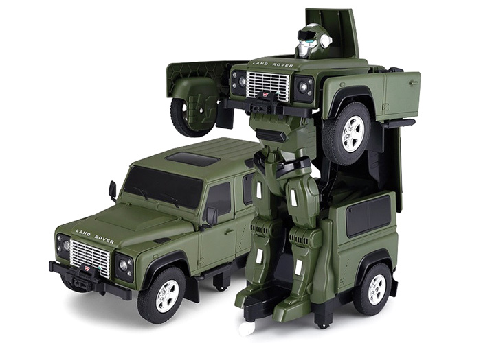 1:14 - Land Rover Transformer - 2.4GHz - Green - RTR