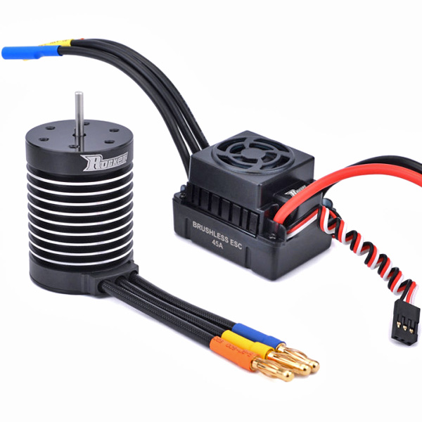 Rocket 3650 5900KV ESC 60A - brushless set wp