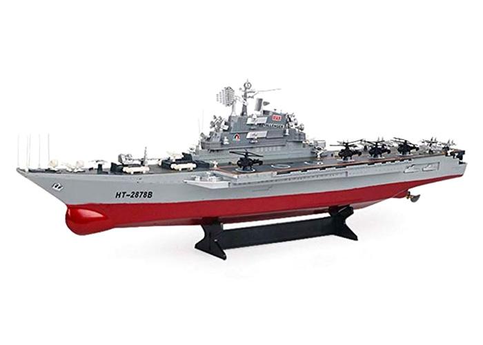 Radiostyrda båtar - Challenger - Hangarfartyg - 2,4Ghz - RTR