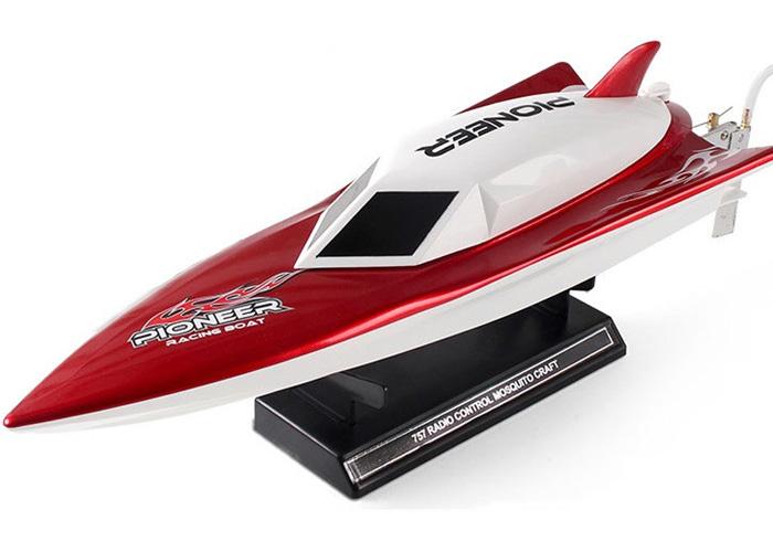 RC båt - Storm - 1:14 - Röd - 2,4Ghz - RTR