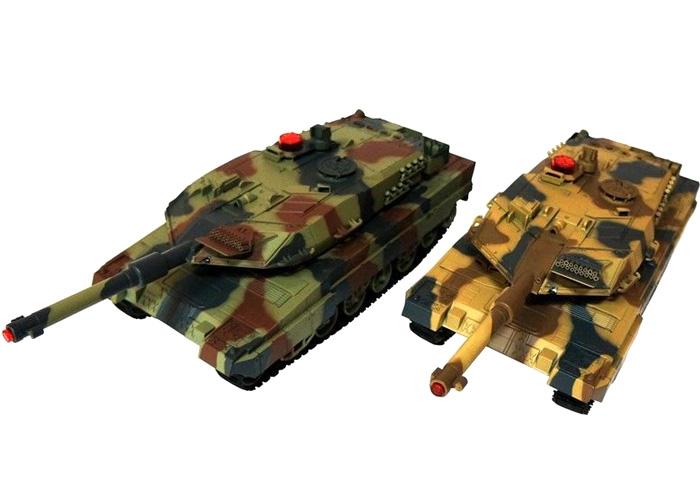 Radiostyrda Battle tanks - Fighting tanks  - 1:24 - RTR