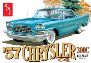 Byggmodell bil - 1957 Chrysler 300 - 1:25 - AMT