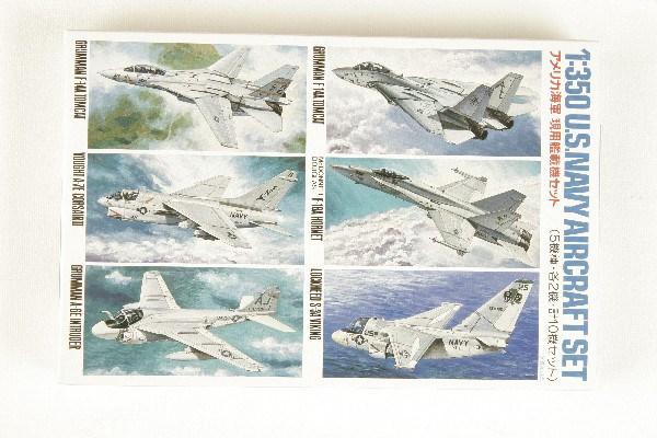 Byggmodell flygplan - US Navy aircraft - 1:350 - Tamiya