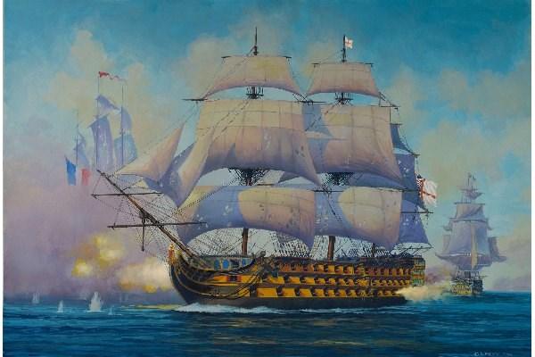 Byggmodell segelfartyg - HMS Victory -1:450 - Revell
