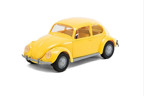 Quick Build VW Beetle - Yellow - Byggklossar - Airfix