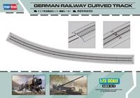 Byggsats Räls - Railway Curved Track 1:72 HobbyBoss