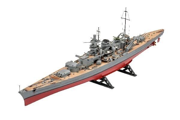 Modell krigsfartyg - Scharnhorst - 1:570 - Revell