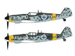 Byggmodell flygplan -  Messerschmitt Bf-109G-6  - 1:72 - Hasegawa