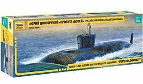 Byggmodell ubåt - Tula Nuclear Ballistic Sub - 1:350-  Zvezda