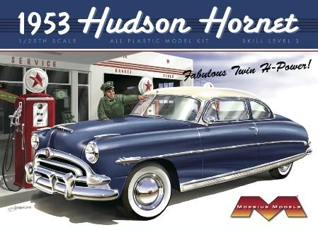 Byggmodell bil - 1953 Hudson Hornet - 1:25 - Revell
