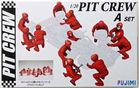 Byggmodell gubbar - Pit Crew set A - 1:20-  Fujimi