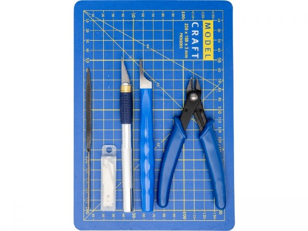 Pro Plastic Modelling Tool Set - 10 pcs. Modelcraft
