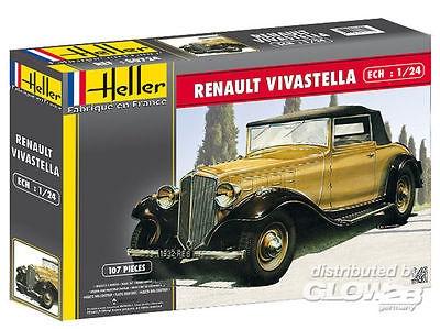Byggmodell bil - Renault VIVastella - 1:24 - Heller