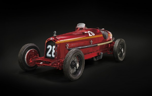 Byggmodell bil - Alfa Romeo 8C 2300 Monza - 1:12 - Italieri
