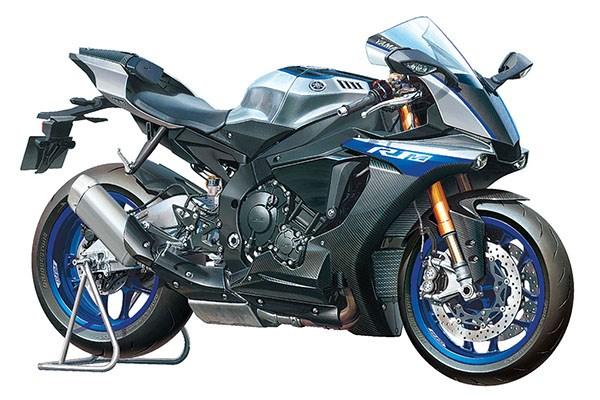 Byggmodell motorcykel - Yamaha YZF-R1M - 1:12 - Tamiya
