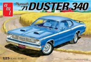 Byggmodell bil - 1971 Plymouth Duster 340 - 1:25 - AMT