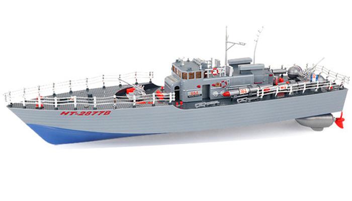 Radiostyrda båtar - Brittisk torpedbåt Blå - 2,4Ghz - RTR