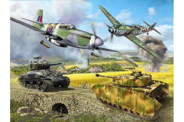 Gift Set- D-Day 75th Anniversary - 1:72 - Revell