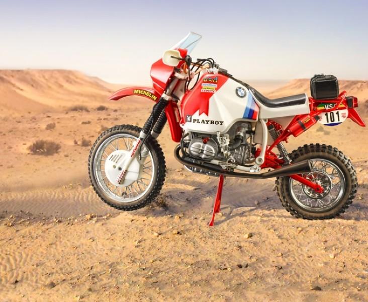Byggmodell motorcykel - BMW 1000 1985 Gaston Rahier 1:9 Italieri