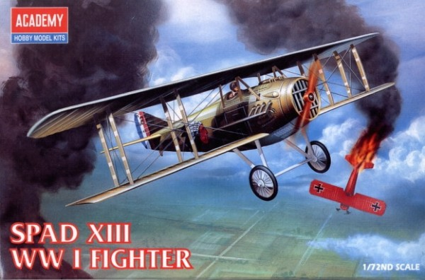 Byggmodell flygplan -  Spad XIII - 1:72 - Academy