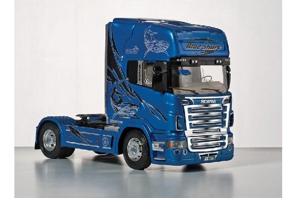 Byggmodell lastbil - Scania R620 Blue Shark - 1:24 - Italieri