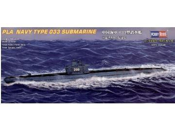 Byggmodell ubåt - Chinese Navy 033 - 1:700 - HobbyBoss
