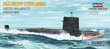 Byggmodell ubåt - PLA NAVY TYPE 039A - 1:700 - HobbyBoss