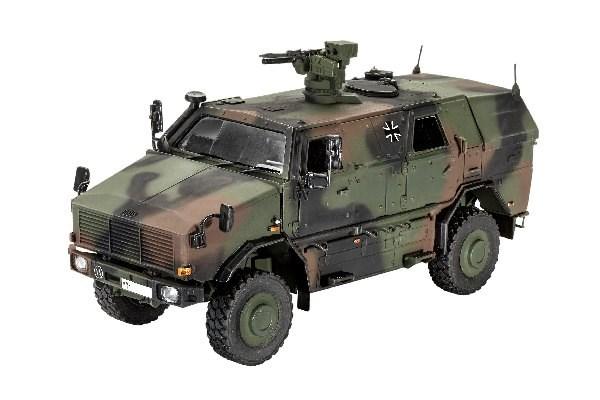 Byggmodell Stridsfordon - Dingo 2 GE A2,3 PatSi - 1:35 - Revell