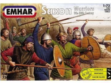 Gubbar - Saxon Warriors - 50 fig. - 1:72 - Emhar