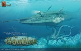 Byggmodell ubåt - The Nautilus Submarine - 1:144 - Pegasus