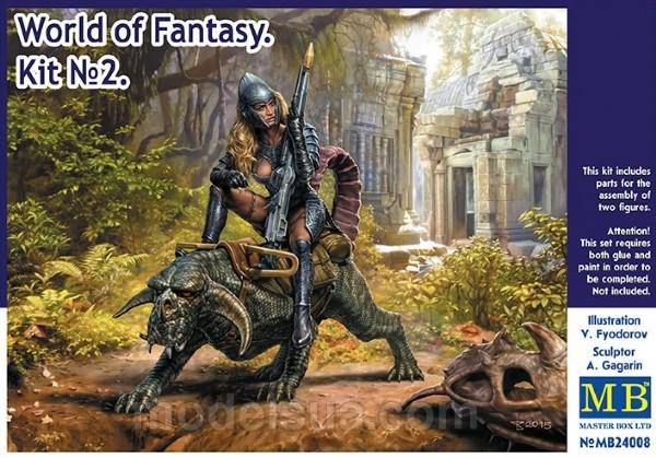 World Of Fantasy. Kit No. 2 - 1: 24 - MasterBox